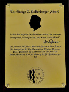 george-paffenbarger-award